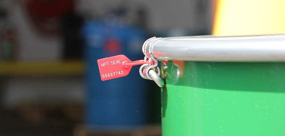MPT verzegeling om vat